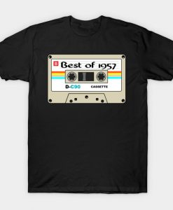 Vintage The Best of 1957 Amazing Gift to Honor Men and Women T-Shirt AI