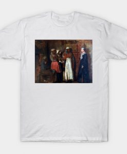 Winslow Homer A Visit from the Old Mistress T-Shirt AI