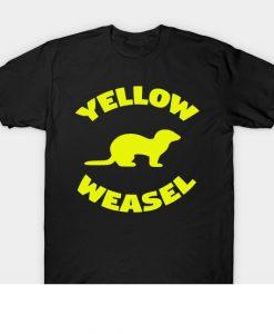 Yellow Weasel Yellow Weasel Yellow Weas T-Shirt AI