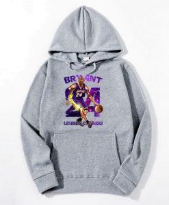 24 Kobe Bryant Printed Hoodie AI
