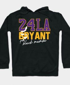 42 LA bryant black mamba Hoodie AI
