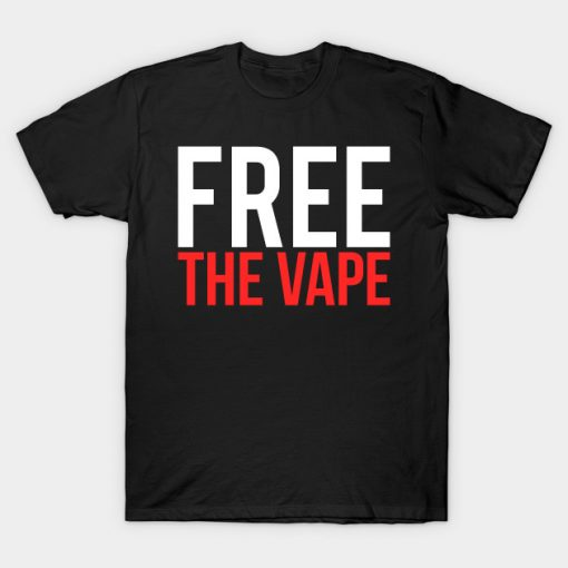 Free the Vape Ban Protest T-Shirt AI