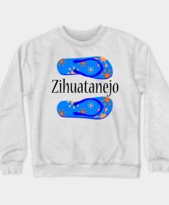 Zihuatanejo Mexico Crewneck Sweatshirt AI