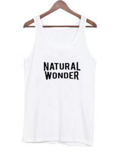 Natural Wonder Tank Top AI