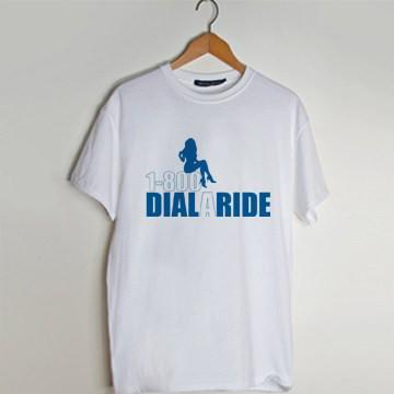 1-800-dial A Ride T Shirt AI